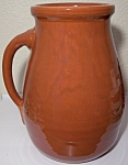 BAUER POTTERY MATT CARLTON VERY LARGE RED/BROWN JUG!