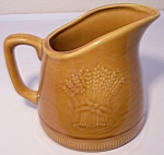 FRANCISCAN POTTERY WHEAT HARVEST BROWN CREAMER!