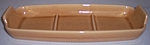 FRANCISCAN POTTERY WHEAT SUMMER TAN CONDIMENT TRAY!