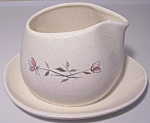 FRANCISCAN POTTERY DUET GRAVY BOWL! MINT!