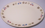 """Click to view larger image of FRANCISCAN POTTERY LARKSPUR 14"""" PLATTER! (Image1)"""