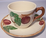 Franciscan Pottery U.S.A. Apple Cup & Saucer Set