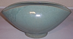 Click to view larger image of ZANESVILLE STONEWARE POTTERY SEACREST GREEN BOWL! (Image1)