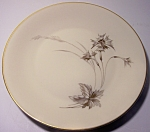 HEINRICH & COMPANY PORCELAIN SEPIA BREAD PLATE!