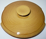 FRANCISCAN POTTERY WHEAT HARVEST BROWN CASSEROLE LID!