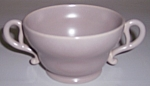 FRANCISCAN POTTERY EL PATIO GREY SUGAR BOWL!