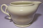 FRANCISCAN POTTERY EL PATIO SATIN YELLOW CREAMER!