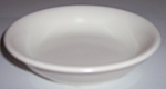 FRANCISCAN POTTERY EL PATIO SATIN IVORY FRUIT BOWL!
