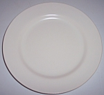 FRANCISCAN POTTERY EL PATIO SATIN IVORY SALAD PLATE!