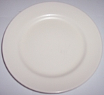 FRANCISCAN POTTERY EL PATIO SATIN IVORY BREAD PLATE!