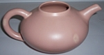 FRANCISCAN POTTERY EL PATIO SATIN CORAL TEAPOT!