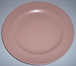 FRANCISCAN POTTERY EL PATIO SATIN CORAL LUNCH PLATE!