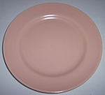 FRANCISCAN POTTERY EL PATIO SATIN CORAL SALAD PLATE!