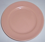 FRANCISCAN POTTERY EL PATIO SATIN CORAL BREAD PLATE!