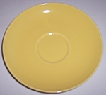 FRANCISCAN POTTERY EL PATIO GLOSS YELLOW JUMBO SAUCER!