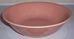 FRANCISCAN POTTERY EL PATIO GLOSS CORAL VEGETABLE BOWL!