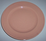 FRANCISCAN POTTERY EL PATIO GLOSS CORAL SALAD PLATE!