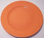 FRANCISCAN POTTERY TROPICO FLAME ORANGE BREAD PLATE!