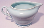 FRANCISCAN POTTERY EL PATIO SATIN AQUA CREAMER!