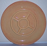 FRANCISCAN POTTERY EL PATIO GOLDEN GLOW DIVIDED RELISH!