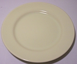 FRANCISCAN POTTERY EL PATIO SATIN YELLOW BREAD PLATE!