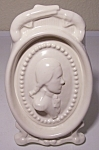PACIFIC POTTERY SATIN WHITE CAMEO VASE!