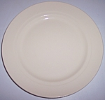 FRANCISCAN POTTERY MONTECITO GLOSS WHITE SALAD PLATE!