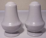 FRANCISCAN POTTERY MONTECITO SATIN GREY SHAKER SET!