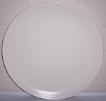 FRANCISCAN POTTERY MONTECITO SATIN IVORY CHOP PLATE!