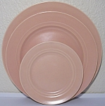 FRANCISCAN POTTERY MONTECITO SATIN CORAL LUNCH PLATE!