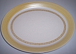 FRANCISCAN POTTERY HACIENDA GOLD LARGE PLATTER!