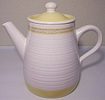 FRANCISCAN POTTERY HACIENDA GOLD COFFEEPOT!