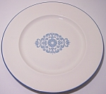 FRANCISCAN POTTERY FAMILY CHINA MEDALLION DINNER PLATE!