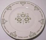 FRANCISCAN POTTERY FAMILY CHINA HERITAGE BREAD PLATE!