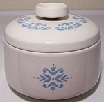 FRANCISCAN POTTERY FAMILY CHINA MEDALLION SUGAR BOWL!