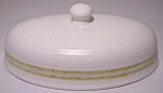 FRANCISCAN POTTERY HACIENDA GREEN BUTTER DISH LID!