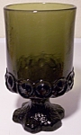 FRANCISCAN POTTERY MADEIRA CRYSTAL OLIVE WINE/JUICE!