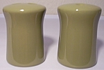 FRANCISCAN POTTERY PEBBLE BEACH SALT/PEPPER SHAKER SET!