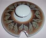 FRANCISCAN POTTERY NUT TREE GRAVY BOWL LID!