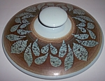 FRANCISCAN POTTERY NUT TREE CASSEROLE LID!