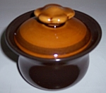 FRANCISCAN POTTERY CREOLE SUGAR BOWL W/LID!