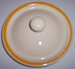 FRANCISCAN POTTERY HONEY DEW SUGAR BOWL LID!