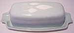 FRANCISCAN POTTERY CYPRESS BUTTER DISH W/LID!