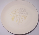 FRANCISCAN POTTERY FINE CHINA WINTER BOUQUET DINNER PLT