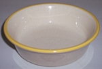 FRANCISCAN POTTERY GOLDEN WEAVE CEREAL BOWL!
