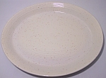 FRANCISCAN POTTERY  COUNTRY CRAFT ALMOND CREAM PLATTER
