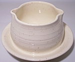 FRANCISCAN POTTERY  COUNTRY CRAFT ALMOND CREAM GRAVY !