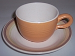 Franciscan Pottery Sierra Sand Cup & Saucer Set