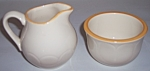 FRANCISCAN POTTERY COUNTRY FRENCH CREAMER/SUGAR BOWL!