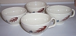 FRANCISCAN POTTERY AUTUMN SET/4 CUPS!